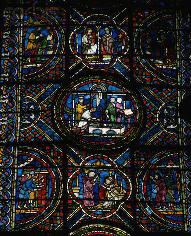 Stained Glass Panels Depicting Life of Thomas Becket, Canterbury Cathedral